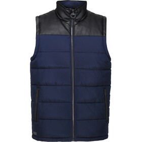 Regatta Hamill B/W Bodywarmer Vest Heren, navy/black